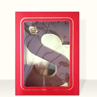 Chocolade Letter kaal 200 gr.